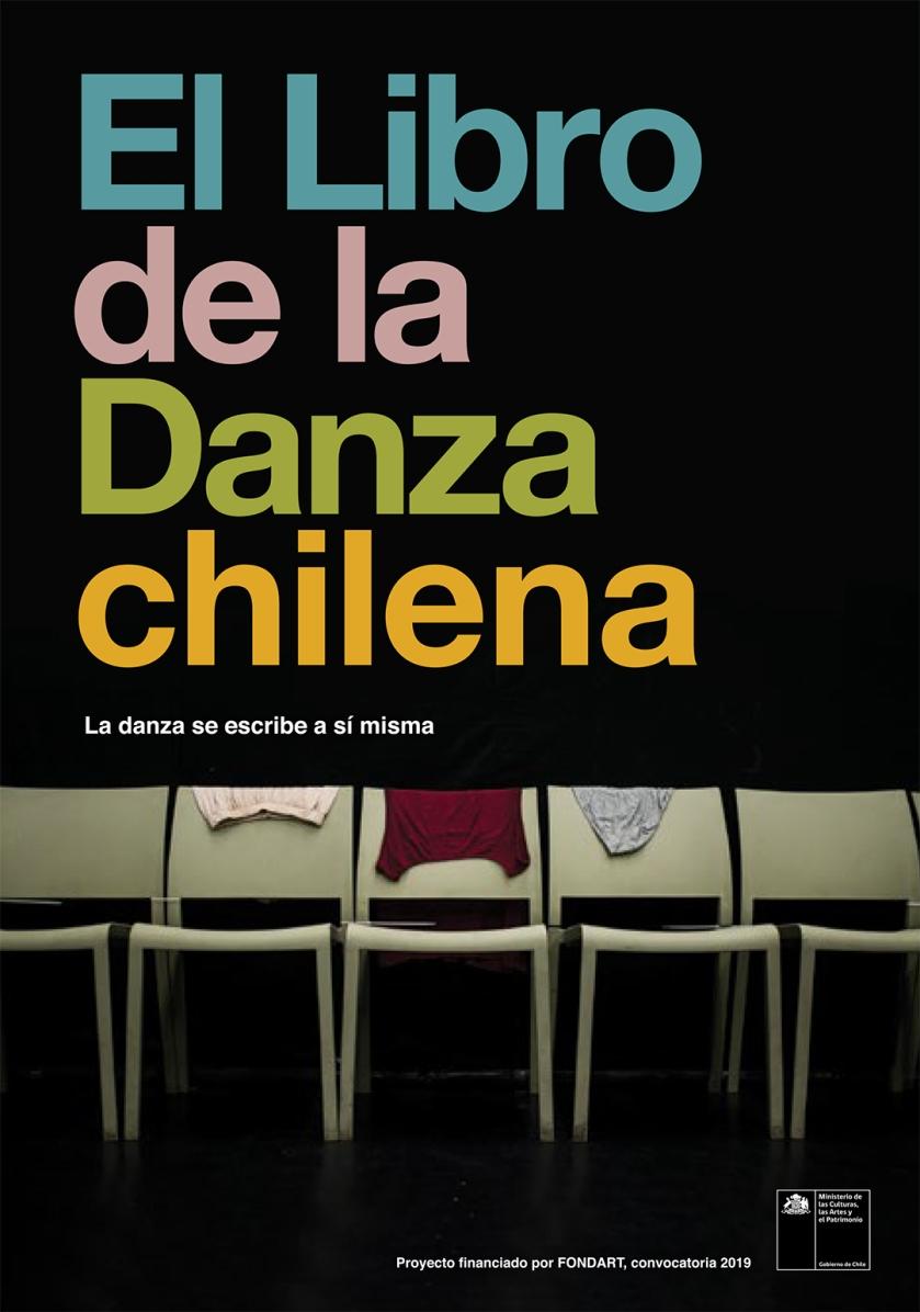 """Portada de """"El Libro de la Danza chilena"""", diseño de Andy Dockett, fotografía de Juan Cristóbal Hoppe Ellicker1"""